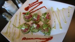 Ahi Tuna Bites Appetizer