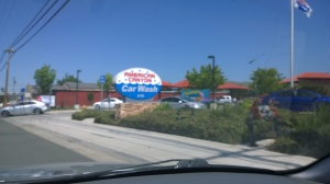 American Canyon Car Wash Entrance from Hwy 29