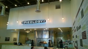 Pieology view from the entrance. Fairfield, CA