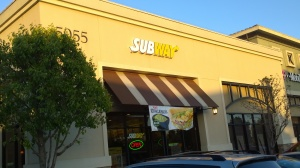 Subway - Napa Junction Shopping Center - American Canyon