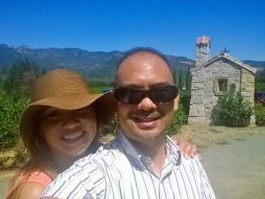 Castillo de Amorosa Napa - outhouse